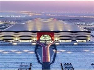 البیت الخور با طراحی کم نظیر آماده جام جهانی 2022
