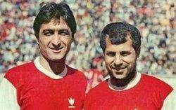 تاریخ فوتبال; گل ناصر محمد خانی به بانک ملی با پاس گل پروین