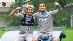 تمرین امروز تیم ترابزون با حضور سید مجید حسینی