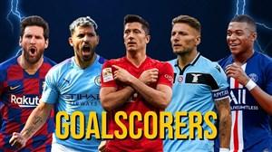 ۱۰ مهاجم برتر فوتبال اروپا در سال ۲۰۲۰