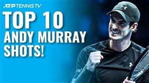 10 امتیاز برتر اندی ماری در تمامی مسابقات