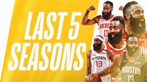 برترین حرکات جیمز هاردن در 5 فصل اخیر NBA