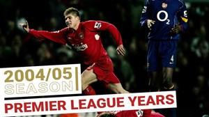 تمامی گلهای لیورپول در فصل 2004/05 لیگ برتر جزیره