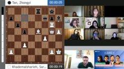 گزارش جذاب از بازی شطرنج خادم الشریعه