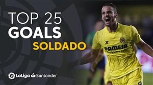 25 گل برتر سولدادو در لالیگا اسپانیا