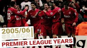 تمامی گلهای لیورپول در فصل 2005/06 لیگ برتر جزیره