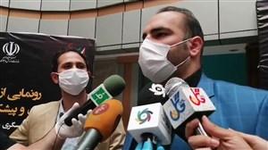 صحبتهای بهداد سلیمی در حاشیه مراسم موزه ملی ورزش