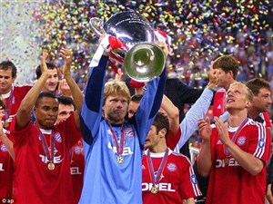 قهرمانی دراماتیک بایرن مونیخ در دقیقه93(فصل2000/2001)
