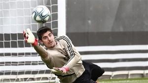 تمرینات دروزاه بان های رئال مادرید