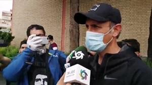 گلمحمدی:دوست دارند بهخاطر خودشان فوتبال تعطیل شود!