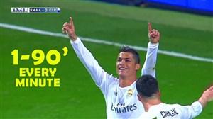 90 گل زیبا از کریستیانو رونالدو; ستاره ی بی تکرار فوتبال جهان