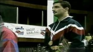 قهرمانی امیررضا خادم در مسابقات جهانی کشتی 1991
