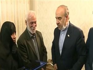 دیدار وزیر ورزش با خانواده شهید ورزشکار