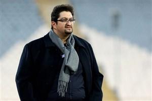 افاضلی:ماندن در لیگ را به هواداران ماشین تبریک میگویم