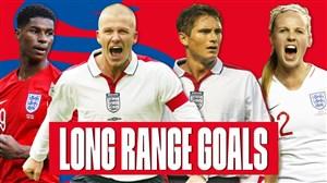 برترین گلهای از راه دور تیم ملی انگلیس