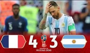 آرژانتین - فرانسه در جام جهانی 2018 با قضاوت علیرضا فغانی