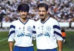 جدال پرگل دایناسورهای فوتبال ایران(عکس)