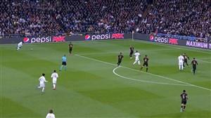 اولین برد منچسترسیتی مقابل رئال مادرید در UCL