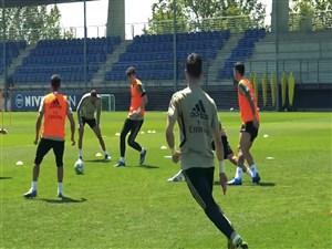 بازگشت به تمرینات بازیکنان تیم رئال مادرید