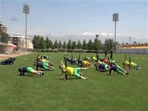 روند آمادهسازی و تمرینات استقلال و نساجی مازندران