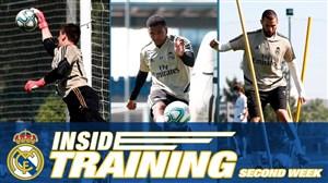 تمرینات امروز تیم رئال مادرید (06-03-99)
