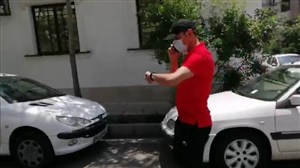 حضور پیروانی و گل محمدی در محل باشگاه پرسپولیس