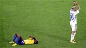 روزی که زیدان به برزیلی ها درس فوتبال داد