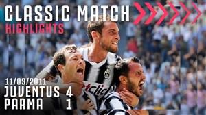 بازی خاطره انگیز یوونتوس - پارما در فصل 12-2011