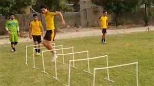 تمرین روز چهارشنبه باشگاه شاهین بوشهر