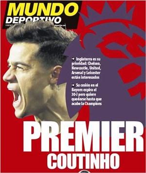 همه گزینههای لیگ برتری برای فیلیپ کوتینیو