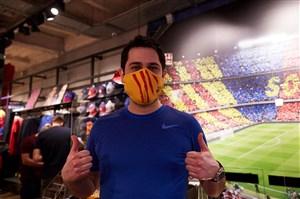 ماسک کرونایی بارسا به بازار آمد! (عکس)