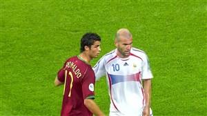 حذف پرتغال با کریستیانو رونالدو مقابل فرانسه و زیدان