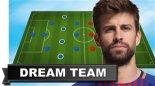 تیم منتخب و رویایی جرارد پیکه ستاره بارسلونا