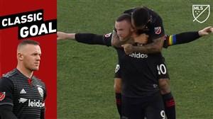 گل فوق العاده و از راه دور وین رونی در لیگ MLS