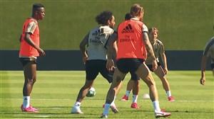تمرینات آماده سازی رئال مادرید در کمپ دی استفانو