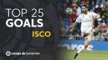 25 گل برتر ایسکو در لالیگا اسپانیا