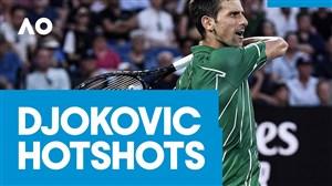 ضربات فوق العاده از نواک جوکویچ در تنیس