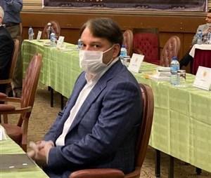 داود عزیزی رئیس فدراسیون تنیس شد