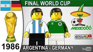 فینال جام جهانی 1986 به روایت لگو
