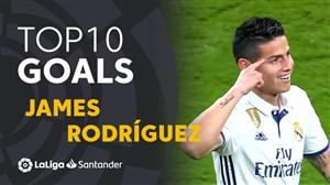 10 گل برتر خامس رودریگز در لالیگا