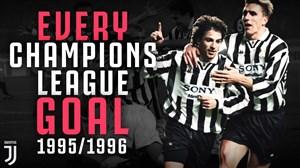 مرور گلهای یوونتوس در لیگ قهرمانان اروپا 96-1995