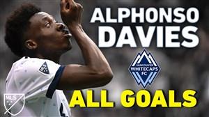 تمام گلهای آلفونسو دیویس در لیگ MLS