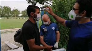 ورود فرشید اسماعیلی و مسعود ریگی به محل تمرینات استقلال