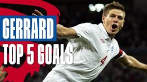 5 گل برتر استیون جرارد در تیم ملی انگلیس
