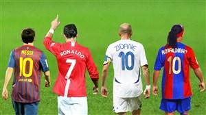 20 گل فوق العاده از 4 ستاره بی تکرار دنیای فوتبال