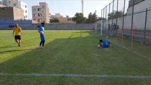 تمرینات دروازه بانهای نفت مسجدسلیمان در اردوی تهران