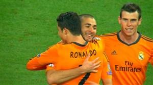 وقتی رئال مادرید با مثلث BBC شالکه را نابود میکند