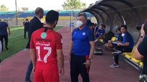آماده سازی تیم گل گهر سیرجان قبل از بازی با پرسپولیس