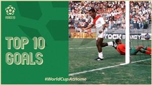 10 گل زیبا و تماشایی در جام جهانی 1970 مکزیک