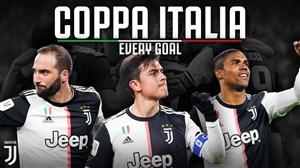 تمام گل های یوونتوس در جام حذفی ایتالیا 20-2019